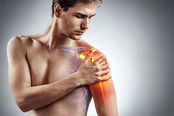 כאבים בכתף -טיפול טבעי עם בי קיור לייזר